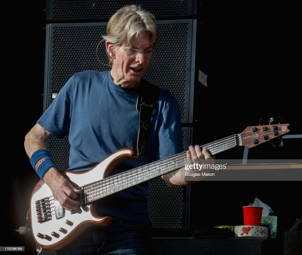 Phil Lesh of Phil Lesh and Friends performs during the 9th Annual Mountain Jam at Hunter Mountain on June 9, 2013 in Hunter, New York.