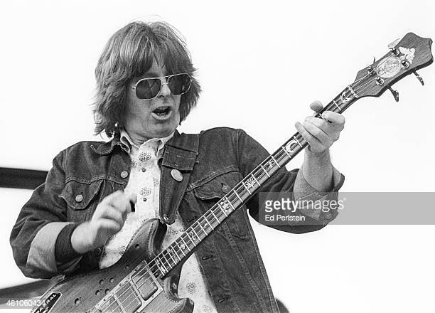 Phil Lesh performs with The Grateful Dead at Spartan Stadium on April 22 1979 in San Jose California