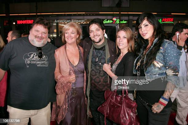 Phil Margera April Margera Bam Margera Missy Margera and Kat Von D