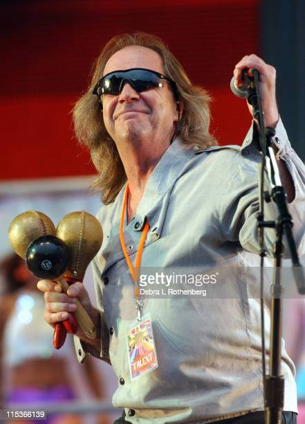 Phil May of the Pretty Things during Little Steven's Underground Garage Festival Presented by Dunkin' Donuts Show August 14 2004 at Randall's Island...
