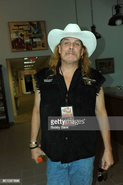 Phil McCormack of the Molly Hatchet Band attends the 8th Annual Rock Ribs Ridges Festival at Sussex County Fairgrounds on June 25 2017 in Augusta New...