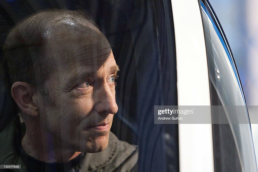 Phil Meteer, chief test pilot of the Terrafugia Transition, sits in the cockpit of the Transition at the 2012 New York International Auto Show on April 5, 2012 in New York City. The Transition is the first of its kind: it is simultaneously able to perform as an aircraft or a street-legal vehicle. The New York International Auto Show features nearly 1,000 brand new vehicles from all auto industry sectors and is open to the public April 6-15.