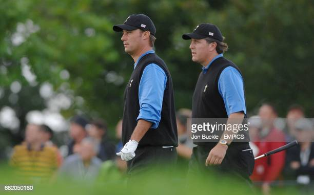 Phil Mickelson and Chris DiMarco US Ryder Cup Team