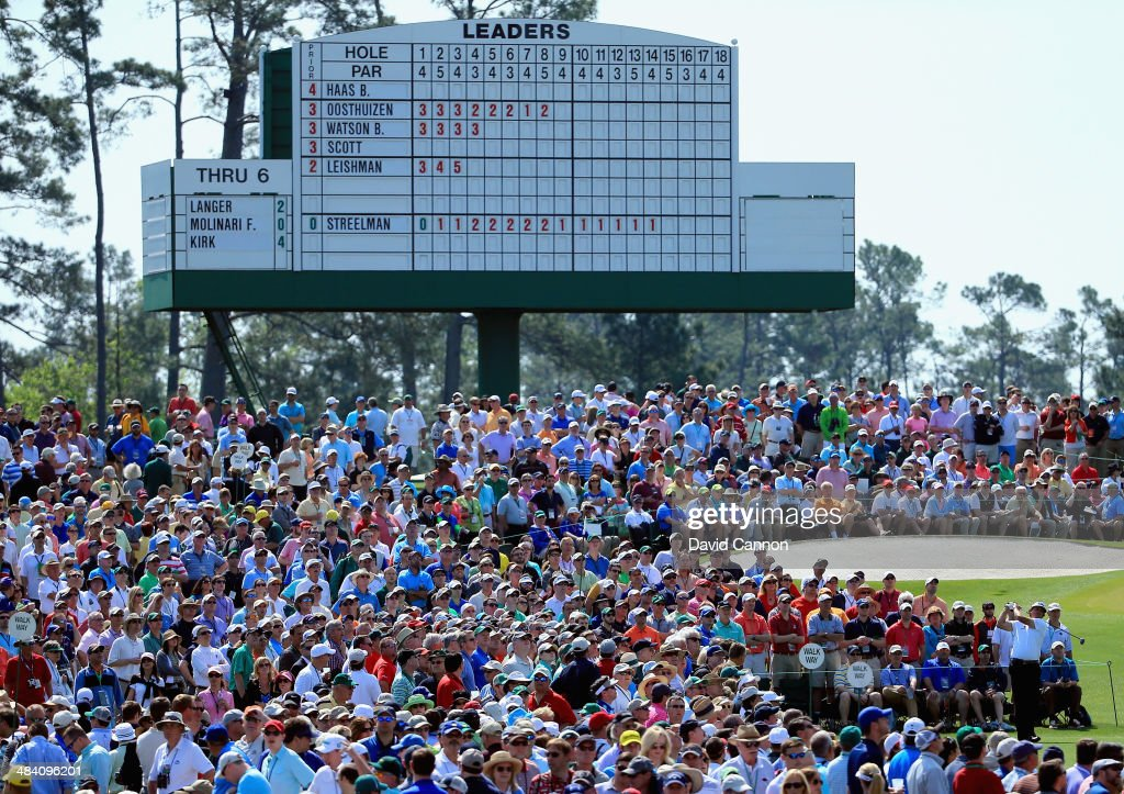<a gi-track='captionPersonalityLinkClicked' href=/galleries/search?phrase=Phil+Mickelson&family=editorial&specificpeople=157543 ng-click='$event.stopPropagation()'>Phil Mickelson</a> of the United States hits a shot on the third tee during the second round of the 2014 Masters Tournament at Augusta National Golf Club on April 11, 2014 in Augusta, Georgia.