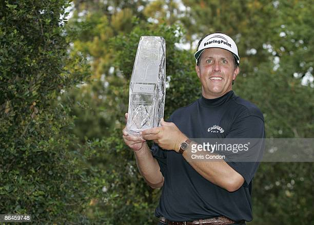 Phil Mickelson wins THE PLAYERS Championship held on THE PLAYERS Stadium Course at TPC Sawgrass in Ponte Vedra Beach Florida on May 13 2007