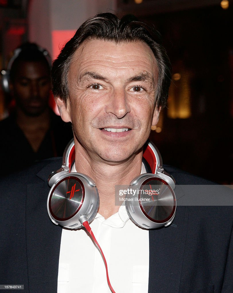 Phil Molyneux, President and COO Sony Electronics, attends The X Factor Viewing Party Sponsored By Sony X Headphones at Mixology101 & Planet Dailies on December 6, 2012 in Los Angeles, United States.
