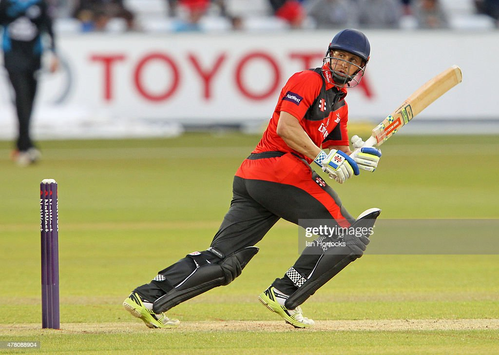 Phil Mustard of Durham during the NatWest T20 Blast match between Durham Jets and Worcestershire Rapids at The Emirates Durham ICG on June 12 2015 in...