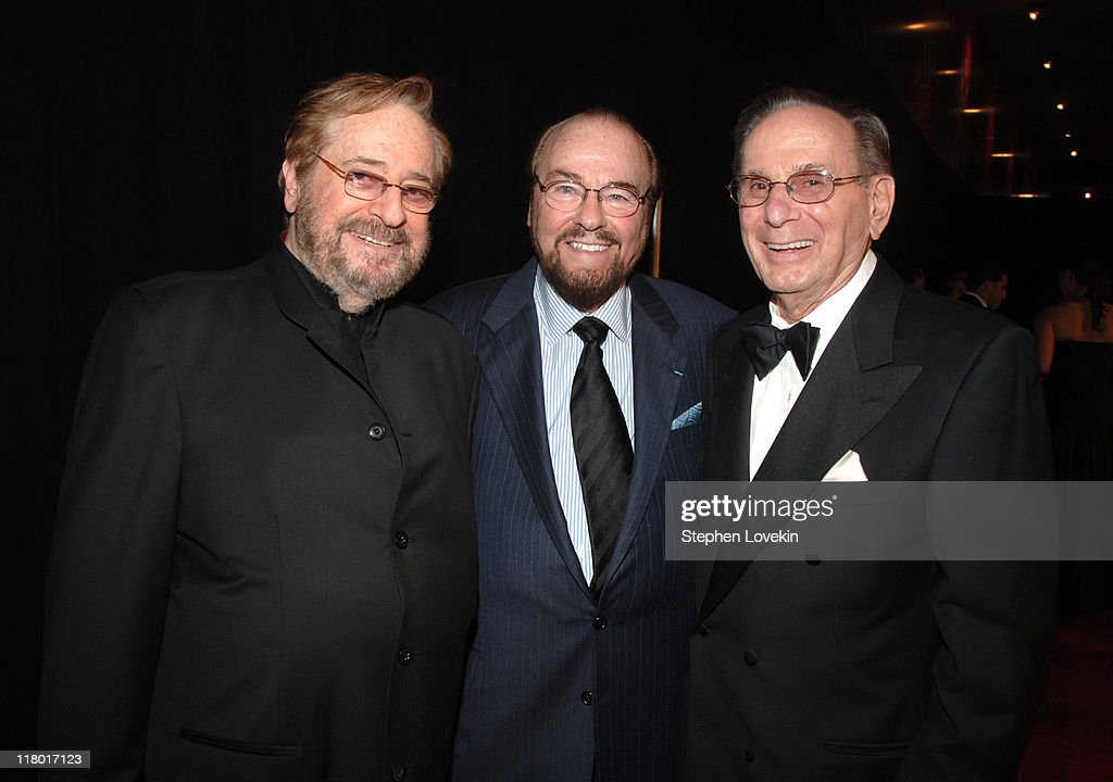 Phil Ramone, James Lipton and Hal David during 38th Annual Songwriters Hall of Fame Ceremony - Arrivals at Marriott Marquis in New York City, New York, United States.