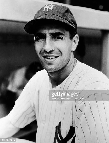 Phil Rizzuto shortstop of the New York Yankees poses for a portrait circa 1945