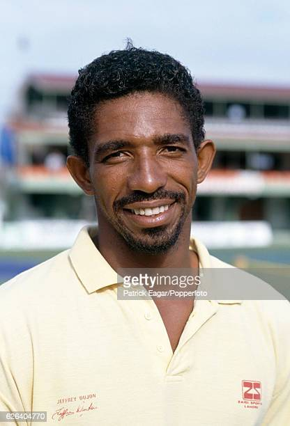 Phil Simmons of West Indies before the 1st Test match between West Indies and Australia at Sabina Park Kingston Jamaica 1st March 1991