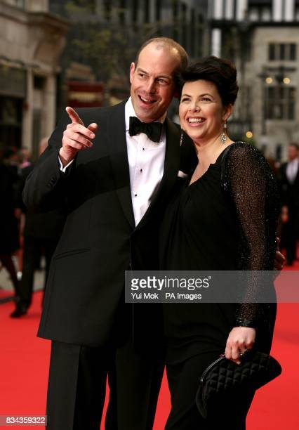 Phil Spencer and Kirstie Allsopp arrive for the British Academy Television Awards at the London Palladium W1