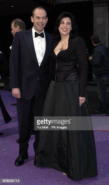 Phil Spencer and Kirstie Allsopp arriving for the British Book Awards at the Grosvenor House Hotel on Park Lane London