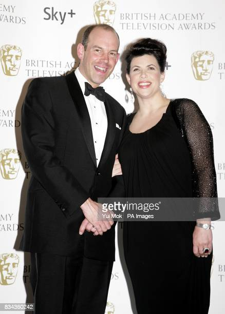 Phil Spencer and Kirstie Allsopp the British Academy Television Awards at the London Palladium W1