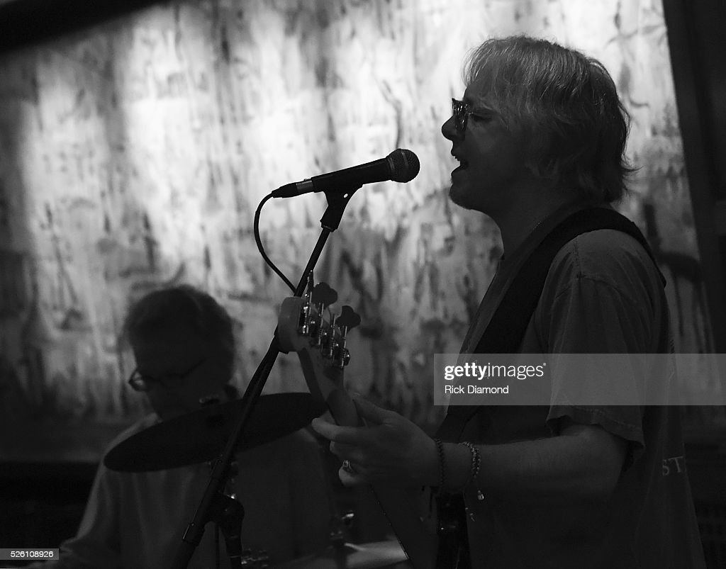 'Phil & the Busters' featuring Marshall Tucker Band's Paul Riddle and R.E.M.'s Mike Mills rehearsal for White House Correspondents' Jam II presented by Mother Nature Network at The Hamilton on April 29, 2016 in Washington, DC.