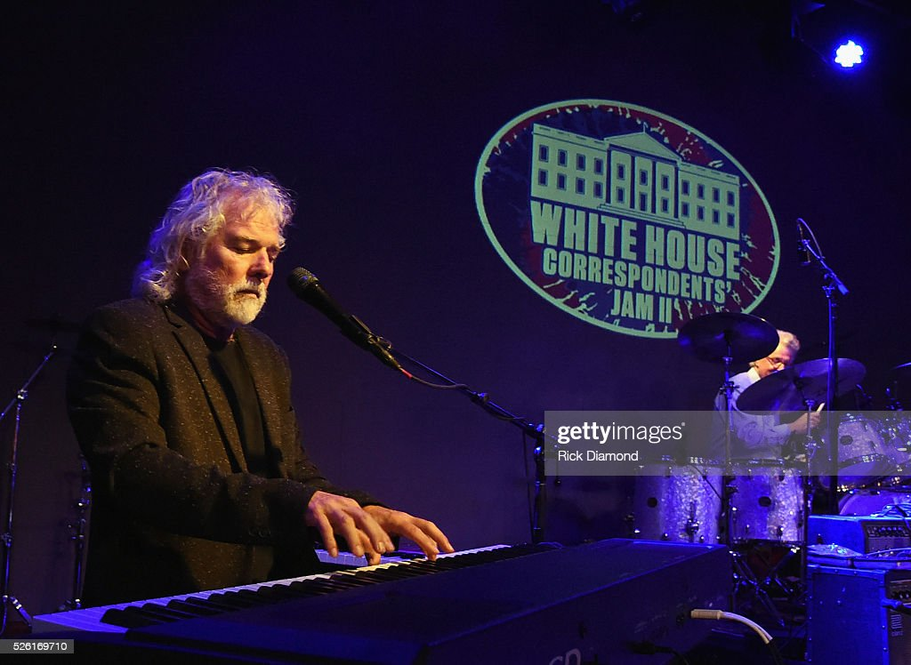 'Phil & the Busters' featuring Rolling Stones Keyboardist <a gi-track='captionPersonalityLinkClicked' href=/galleries/search?phrase=Chuck+Leavell&family=editorial&specificpeople=1669001 ng-click='$event.stopPropagation()'>Chuck Leavell</a> rehearses for the White House Correspondents' Jam II presented by Mother Nature Network at The Hamilton on April 29, 2016 in Washington, DC.