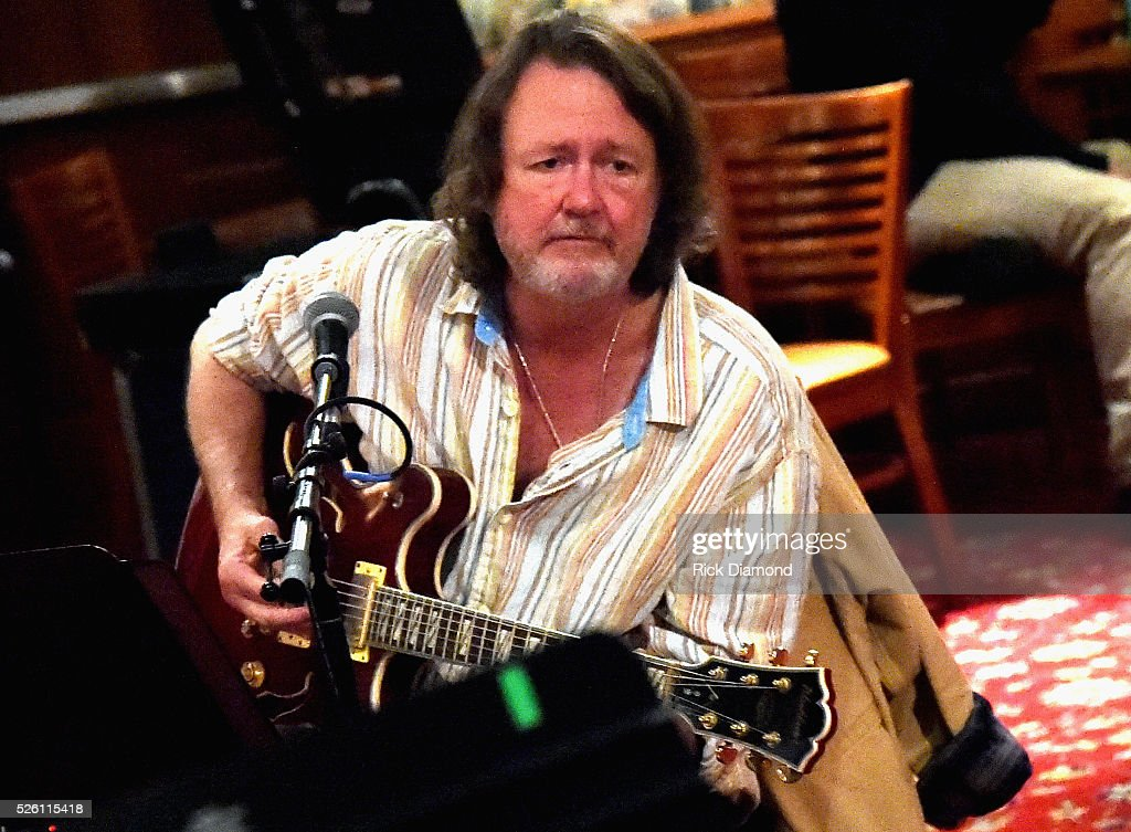 'Phil & the Busters' featuring Widespread Panic's Singer/Guitarist <a gi-track='captionPersonalityLinkClicked' href=/galleries/search?phrase=John+Bell&family=editorial&specificpeople=239006 ng-click='$event.stopPropagation()'>John Bell</a> rehearse for the White House Correspondents' Jam II presented by Mother Nature Network at The Hamilton on April 29, 2016 in Washington, DC.