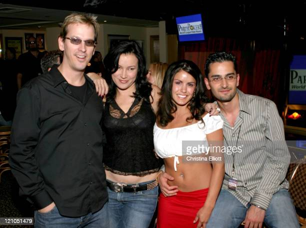 Phil 'The Unabomber' Laak Jennifer Tilly a guest and Antonio Esfandiari