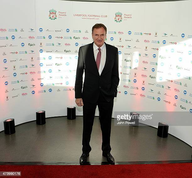 Phil Thompson ex player of Liverpool arrives at the Liverpool Player of the Year Awards on May 19 2015 in Liverpool England