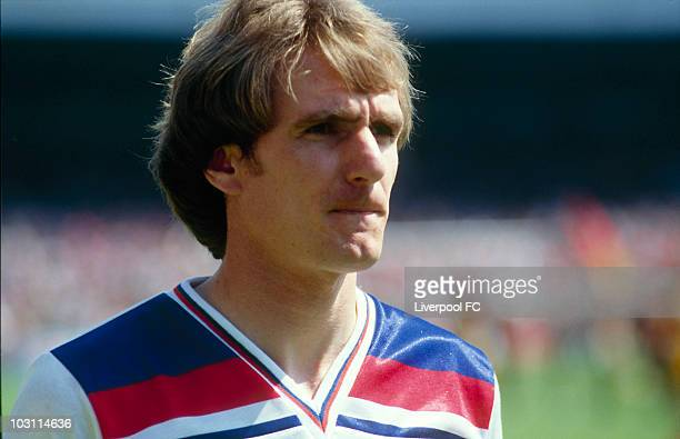 Phil Thompson of England during an International match held in England