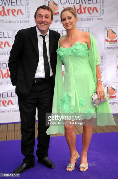 Phil Tufnell and wife Dawn arrive for the Butterfly Ball in Battersea Park London The event by Caudwell Children aims to raise funds for disabled...