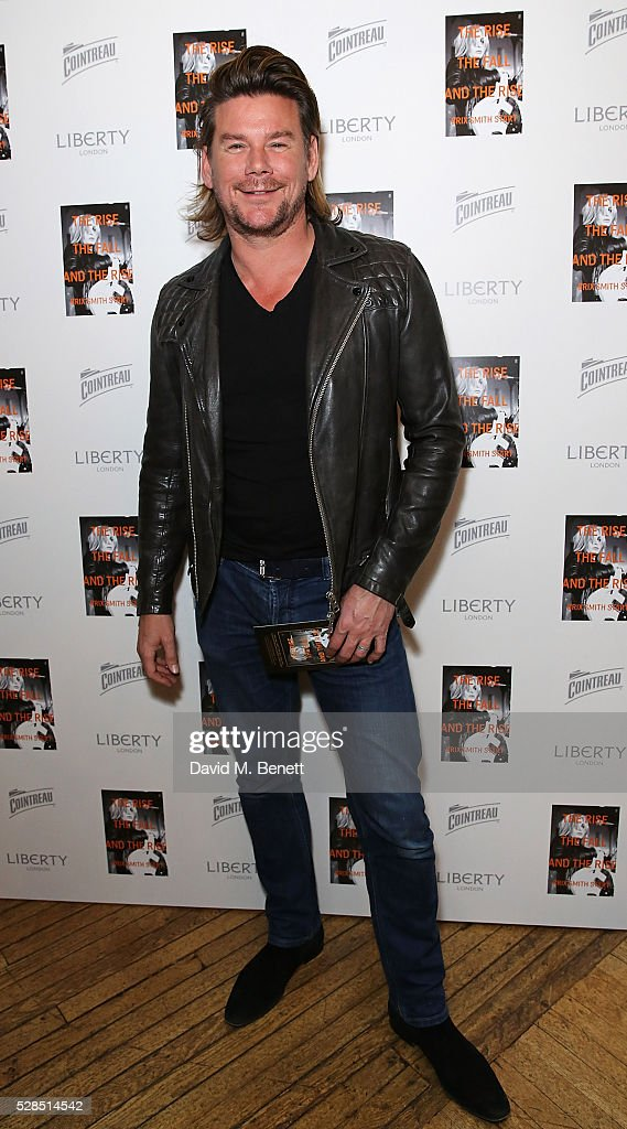 Phil Turner attends the Brix Smith Start Autobiography Launch at Liberty London on May 5, 2016 in London, England.