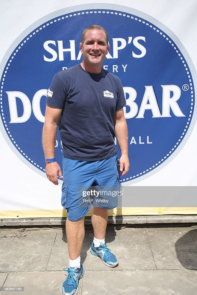 Phil Vickery attends London Beach Rugby 2015, a two day touch rugby ...