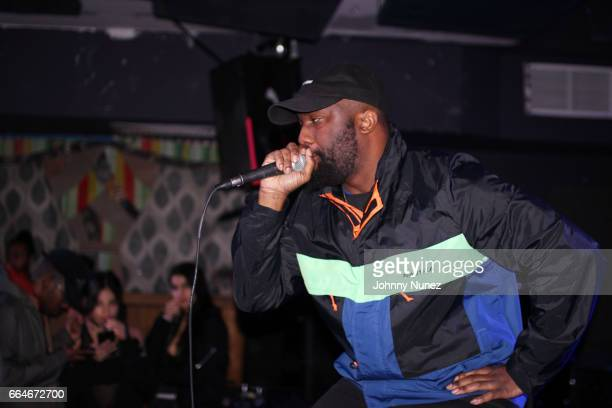 Phil Walker performs at Baby's All Right on April 2 2017 in New York City