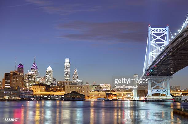 Philadelphia and the Ben Franklin Bridge