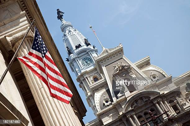 Philadelphia city hall from Broad Street