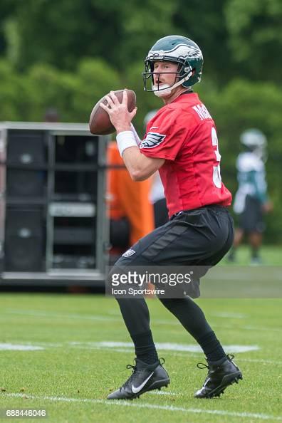 8a712762ba0 ... Jersey NFL MAY 23 Eagles OTA Pictures Getty Images Womens Nike  Philadelphia Eagles 3 Matt McGloin ...