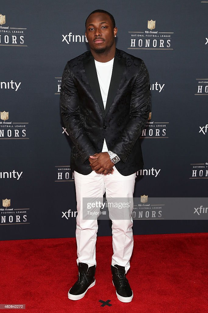 Philadelphia Eagles running back <a gi-track='captionPersonalityLinkClicked' href=/galleries/search?phrase=LeSean+McCoy&family=editorial&specificpeople=4484228 ng-click='$event.stopPropagation()'>LeSean McCoy</a> attends the 2015 NFL Honors at Phoenix Convention Center on January 31, 2015 in Phoenix, Arizona.