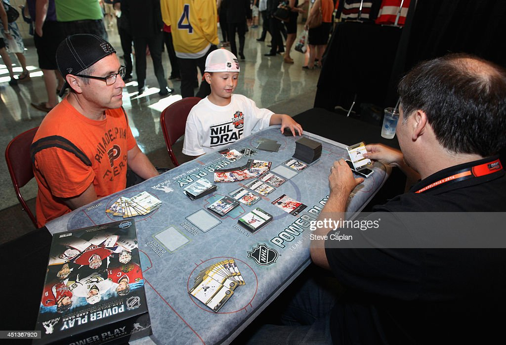 Philadelphia Flyers fans attend the Fan Fest as part of the 2014 NHL Entry Draft at the Wells Fargo Center on June 27, 2014 in Philadelphia, Pennsylvania.