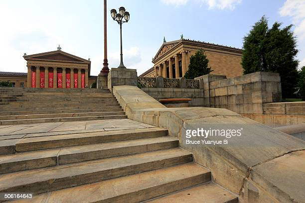 Philadelphia Museum of Art with steps
