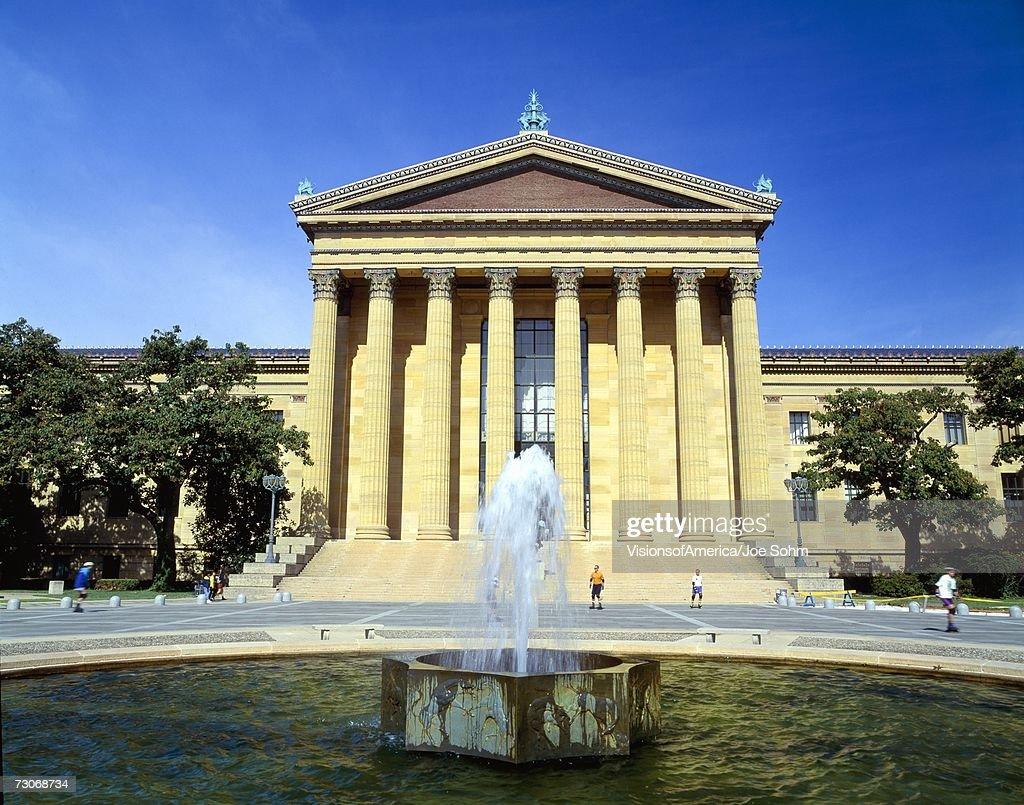 'Philadelphia Museum of Art,Pennsylvania' : Stock Photo