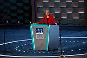 Philadelphia PA On Monday July 25 day one of the 2016 Democratic National Convention held at the Wells Fargo Center Massachusetts Senator Elizabeth...