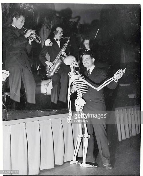 That song had it that it was all right to 'take off your skin and dance around in your bones' But it was to demonstrate that bones one uses in...