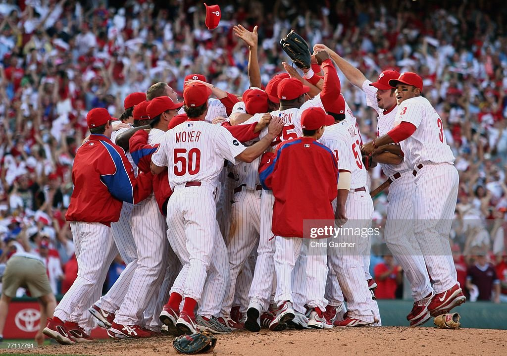 Image result for phillies win division 2007