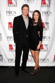 Philadelphia Phillies Chase Utley and his wife Jennifer Utley attend the 3rd Annual Utley AllStars Animal Casino Night at The Electric Factory April...