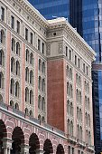 Philadelphia Reading Terminal - old railroad station building. U.S. National Historic Landmark.