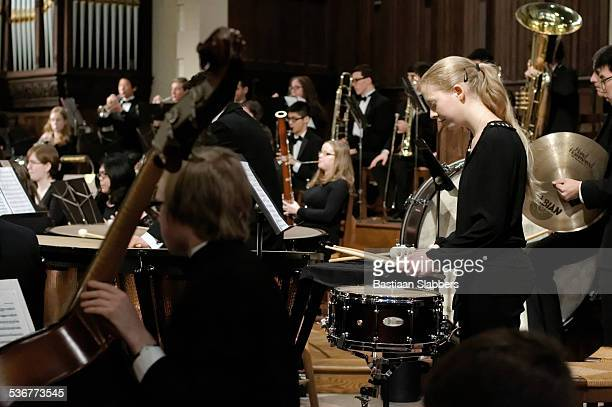 Philadelphia Sinfonia Youth Orchestra plays for packed church