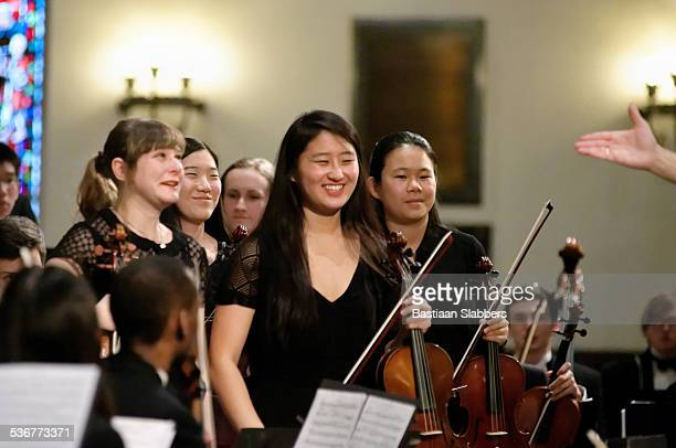 Philadelphia Sinfonia Youth Orchestra plays packed church