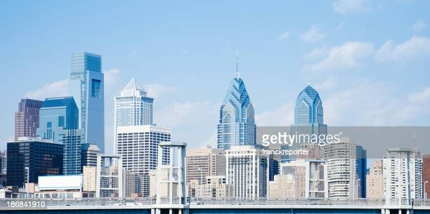 Philadelphia skyline on a day