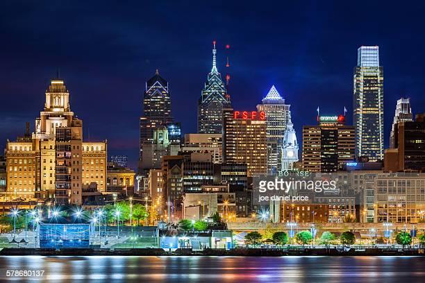 Philadelphia skyline, Pennsylvania, America