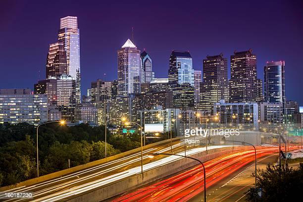 フィラデルフィアの街並み