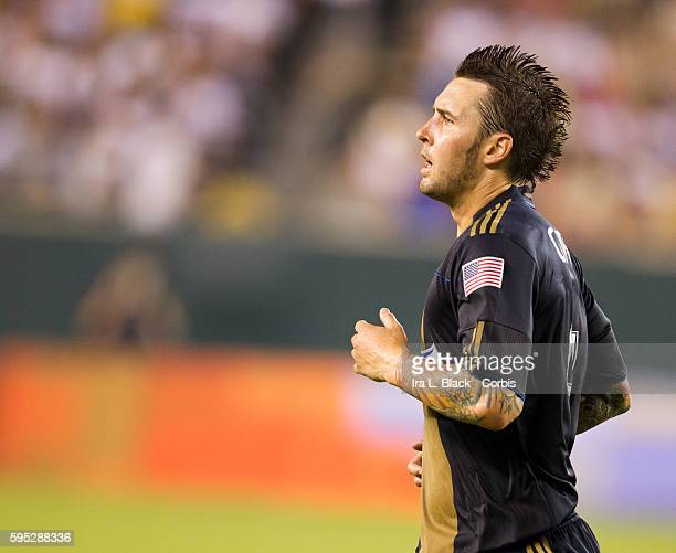 Philadelphia Union player Danny Califf during to the Friendly Match against Philadelphia Union as part of the Herbalife World Football Challenge Real...