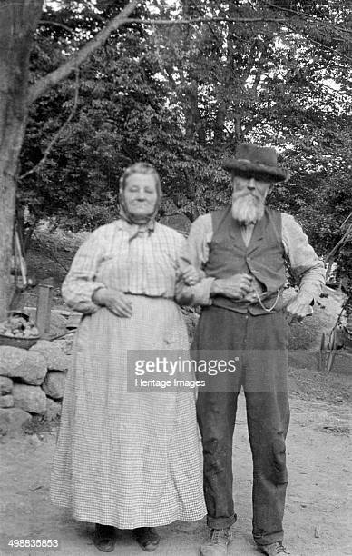Philander Fitzgerald Nash Nelson County Virginia USA 19161918 Photograph taken during Cecil Sharp's folk music collecting expedition British musician...