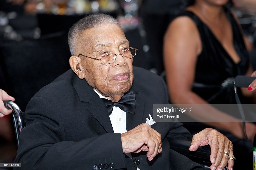 Philanthropist and Businessman Leon T. Garr is honored at 'An Artful Evening At CAAM' Gala at the California African American Museum on October 12, 2013 in Los Angeles, California.