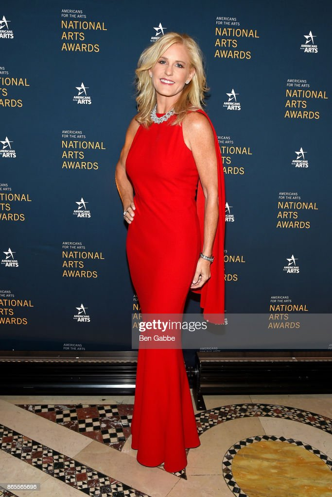 Philanthropist Carolyn Clark Powers attends the National Arts Awards at Cipriani 42nd Street on October 23, 2017 in New York City.
