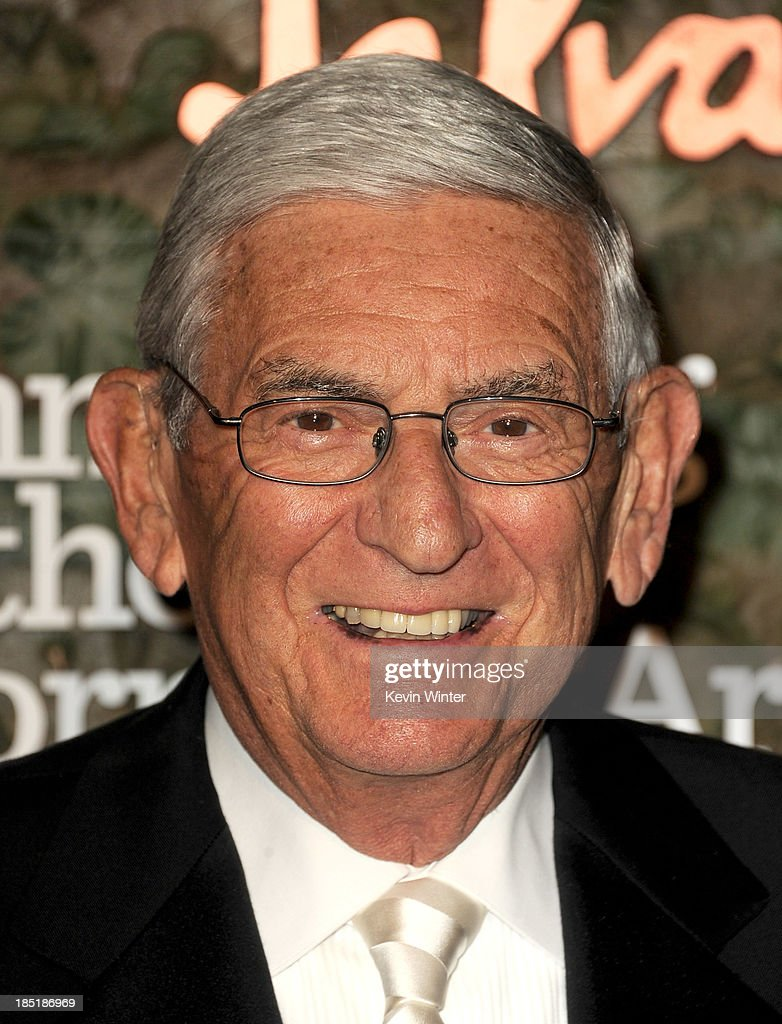 Philanthropist <a gi-track='captionPersonalityLinkClicked' href=/galleries/search?phrase=Eli+Broad&family=editorial&specificpeople=627780 ng-click='$event.stopPropagation()'>Eli Broad</a> arrives at the Wallis Annenberg Center For The Performing Arts Gala at the Wallis Annenberg Center For The Performing Arts on October 17, 2013 in Beverly Hills, California.