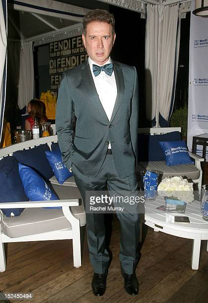 Philanthropist Eugene Sadovoy attends the Los Angeles Confidential Emmy's Event held at The London West Hollywood on September 20 2012 in West...
